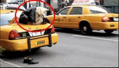 Namaz (Salat) Pictures - Simply no excuse to miss namaz,  A Taxi Driver offering Namaz on the trunk (dickie) of his cab - Namaz Photos