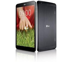 The LG G Pad 8.3 has a 1920 x 1200 pixel display, a 1.7 GHz Qualcomm Snapdagon 600 quad-core processor, 16GB of storage, and 2GB of RAM. It features a 4600mAh battery and runs Android 4.2.2 Jelly Bean. It measures 0.33 inches thick and weighs 12 ounces.