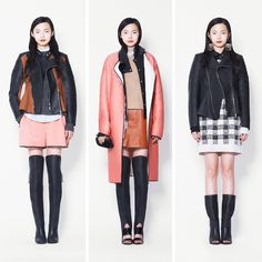Xiao Wen models our new arrivals. #FW13 #SONOMAMA