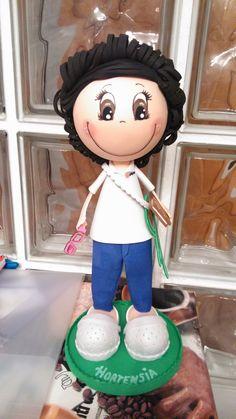 Fofucha Educadora Infantil personalizada