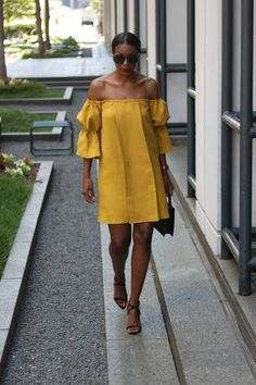 off the shoulder dress9