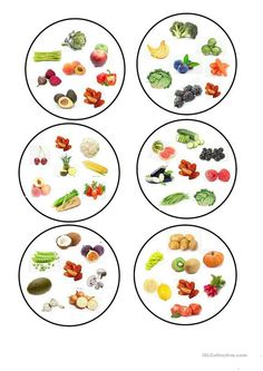 Dobble fruit and vegetables worksheet Free ESL printable worksheets made by teachers : fruit and vegetables. worksheet - Free ESL printable worksheets made by teachers Fruit And Veg, Fruits And Vegetables, Free Fruit, Printable Worksheets, Printables, Classroom Management Plan, Classroom Rules, Teaching Jobs, Teaching Vocabulary