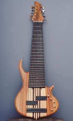 10 string bass guitar