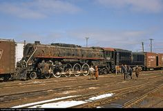 RailPictures.Net Photo: MILW 265 Chicago, Milwaukee, St. Paul & Pacific Steam 4-8-4 at Milwaukee, Wisconsin by Tom Farence
