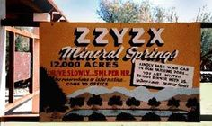 Zzyzx Mineral Springs