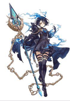 sinoalice | Tumblr Female Character Design, Character Design Inspiration, Character Concept, Character Art, Fantasy Characters, Female Characters, Anime Characters, Fantasy Anime, Fantasy Girl