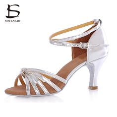 655a8026e1a Genuine Original Latino Woman Dancing Shoes Soft Sole High Heel  Professional Tango Salsa Ladies Girls Tango Salsa Dancing Shoes. Latin  Dance ShoesBallroom ...