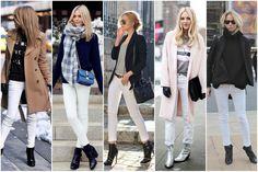 Calça Branca em todas as estações