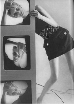 60sfangirl:   Twiggy by Bert Stern, Vogue, 1967 (x)