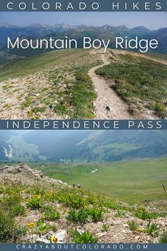 Mountian Boy Ridge Trail at the Summit of Independence Pass is a must-do if prepared. Absolutely stunning as you hike past the Summit along Mountain Boy Ridge along the Continental Divide and see views like no other. Bring your boots, hiking essentials, and wander far beyond the lookout. You won't be disappointed! Snowshoe, Rafting, Snowboard, Family Adventure, Adventure Travel, Hiking Essentials, Continental Divide, Outdoor Woman, Weekend Trips