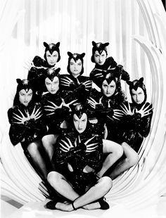 Panther dancers in the film Ziegfeld Follies (1945)