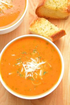 Best Tomato Recipes This tomato basil soup is one of my all time favourite recipes. It's easy to make and always tastes AMAZING! It's the perfect soup recipe for summer!