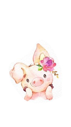 Bilder/karten Bilder/karten The post Bilder/karten appeared first on Animal Bigram Ideen. Baby Animal Drawings, Cute Drawings, Watercolor Animals, Watercolor Paintings, Baby Animals, Cute Animals, Pig Art, Cute Pigs, Baby Art