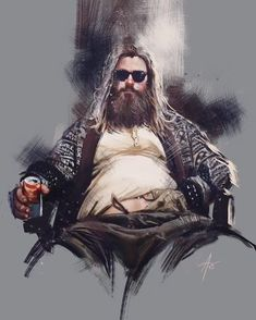 Is this thor ot the big labowski? The big thorbowski.Tag a mate that has the thor bod! Marvel Dc Comics, Marvel Funny, Marvel Vs, Marvel Memes, Die Rächer, Beer Art, Tribute, The Avengers, Marvel Avengers