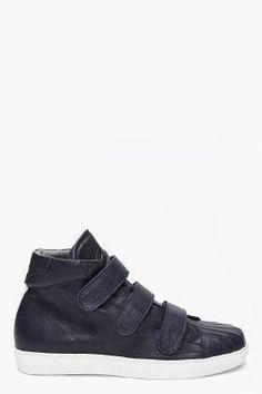 Alexander McQueen Dark Blue Gomm Sneakers