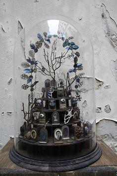 Vintage elements composition  xo--FleaingFrance  'Sorte de petit cimetière' by mtoulet