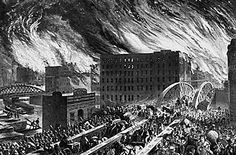 THE GREAT CHICAGO FIRE - HISTORY FILES FROM CHICAGO HISTORICAL SOCIETY (ARCHIVED)