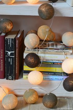 Favorite Taupe - Cotton Ball Lights