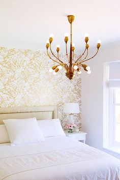 The Accent Wall. See more beautiful bedrooms in Vermont http://www.hickokandboardman.com/vermont-property-search-results.html?&sf_typeRes=Residential&sf_typeCondo=Condo&searchType=advanced&sf_keyword=bedrooms&sortBy=cbhb_down