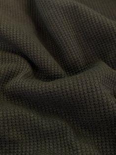 Mini Waffle Jersey - Green Eyes – Sitka Fabrics