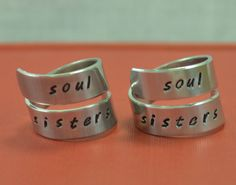 Soul Sisters/ Best Friend Gift/ Sister Gift/ by TheVillageGifts, $20.00