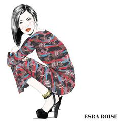 15 Esra Roise picture Marc by Marc dress and  Prada heels