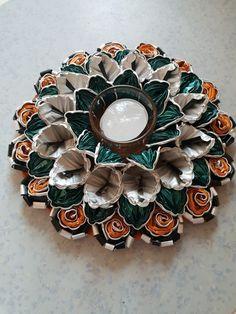 Cafe Nespresso, Cup Art, Bracelet Watch, Diy, Christmas Decor, Craft, Ideas, Flowers, Manualidades