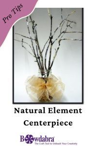 natural element centerpiece are a great thing to add to your home Diy Mother's Day Crafts, Mothers Day Crafts, Diy Craft Projects, Flower Pot Crafts, Diy Flower, Flower Pots, Wedding Crafts, Diy Wedding, Wedding Ideas