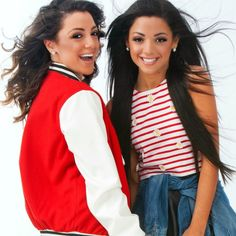 It's Niki and Gabi! Aka the girly-girl and the hipster. We make videos from singing, to funny and relatable, to DIY's, to Fashion, and to Beauty! Nikki And Gabby, Gabi And Niki, Youtube Vines, Youtube Stars, Famous Youtubers, Alisha Marie, Mylifeaseva, Just Amazing, Celebs