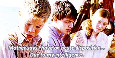 The relationship between Edmund and Eustace was the only thing good about this movie
