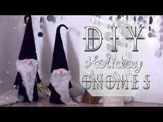 Scandinavian Tomte Nisse Christmas Gnome DIY Tutorial - YouTube