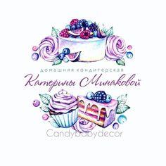 Cupcake Logo, Cupcake Art, Business Logo, Business Design, Baking Logo, Logo Image, Cake Logo Design, Hand Painted Sarees, Sheep Crafts