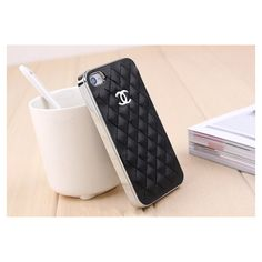 Handmade iPhone 4 Case iPhone 4s Case Chanel iPhone Case Chanel... ❤ liked on Polyvore
