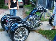 Image result for hard up choppers trike
