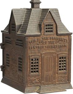 September 6-7 2013 Auction: Cast Iron Central Savings Still Bank. #MorphyAuctions
