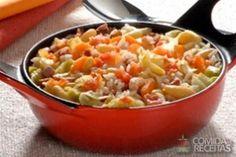 Receita de Feijão branco diferente em receitas de legumes e verduras, veja essa e outras receitas aqui!