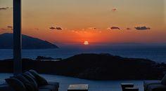 ★ Ios Club Cocktail Bar - Greece ★ Greece Travel, Restaurant Bar, Ios, Cocktails, Club, Celestial, Sunset, Outdoor, Craft Cocktails