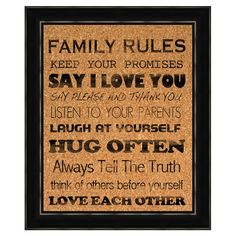 Framed corkboard with a silk-screened typographic motif. Product: CorkboardConstruction Material: Cork and polystyreneColor: Black frameFeatures: Silkscreen imageReady to hang Dimensions: H x W Great Quotes, Quotes To Live By, Me Quotes, Inspirational Quotes, Happy Quotes, Motivational, Say Love You, My Love, Hm Deco