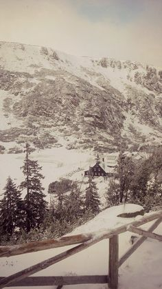 Samotnia on Karkonosze Mountains Winter Scenes, Czech Republic, National Parks, Meet, Mountains, Landscape, Country, Outdoor, Historia