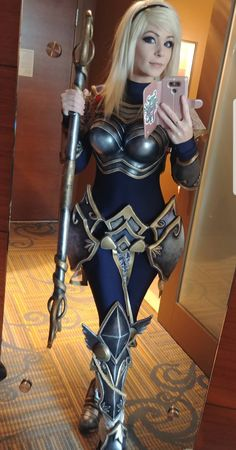 42 Great Pics And Memes to Improve Your Mood - Cosplaystyle Ideas Women Anime Outfits, Cosplay Outfits, Cosplay Girls, Cosplay Anime, Cosplay Armor, Amazing Cosplay, Best Cosplay, Armadura Viking, Cosplay Mignon