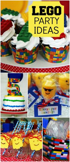 How cool is this Lego party for a girl birthday?! See more party ideas at CatchMyParty.com!
