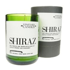Shiraz Candle - Full Bodied Cinnamon & Berries - Narborough Hall