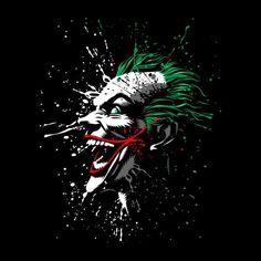 Batman Joker Crazy Face