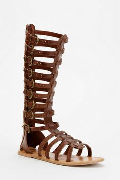 Ecote Helena Tall Buckled Caged Sandal......these are going to be my summer staple!!!!!!