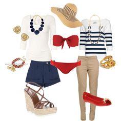 Nautical summer fun :)