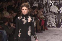 Watch Viktor & Rolf AW13 show: https://www.youtube.com/watch?v=yMckrk5Ot3s #Fashion #ViktorandRolf #Catwalk