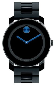 Movado 'Large Bold' Bracelet Watch, 42mm
