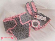 disfraz de conejita y deportivas en ganchillo (2)
