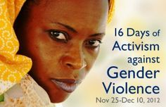 The UN has designated November 25 as International Day for the Elimination of Violence Against Women