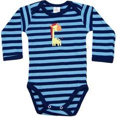 Body Bebê Menino Girafa Listrado Marinho - Best Club :: 764 Kids | Roupa bebê e infantil